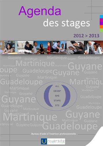 calendrier  agenda des stages